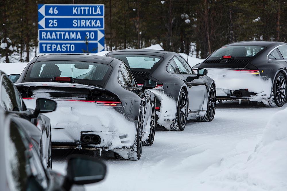 Porsche 911 (991) testes desenvolvimento