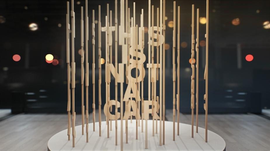 Stand da Volvo no Salão de Los Angeles 2018