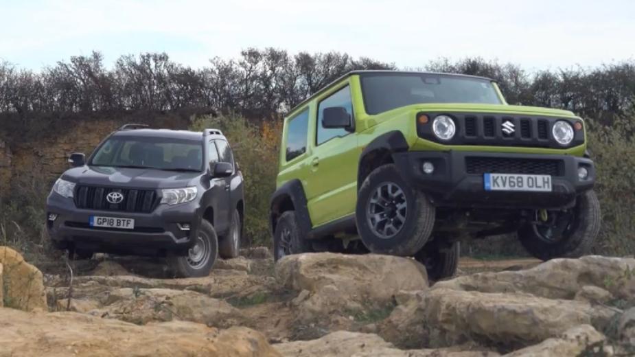 Suzuki Jimny vs Toyota Land Cruiser Utility
