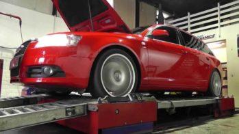 Audi A6 teste de potência
