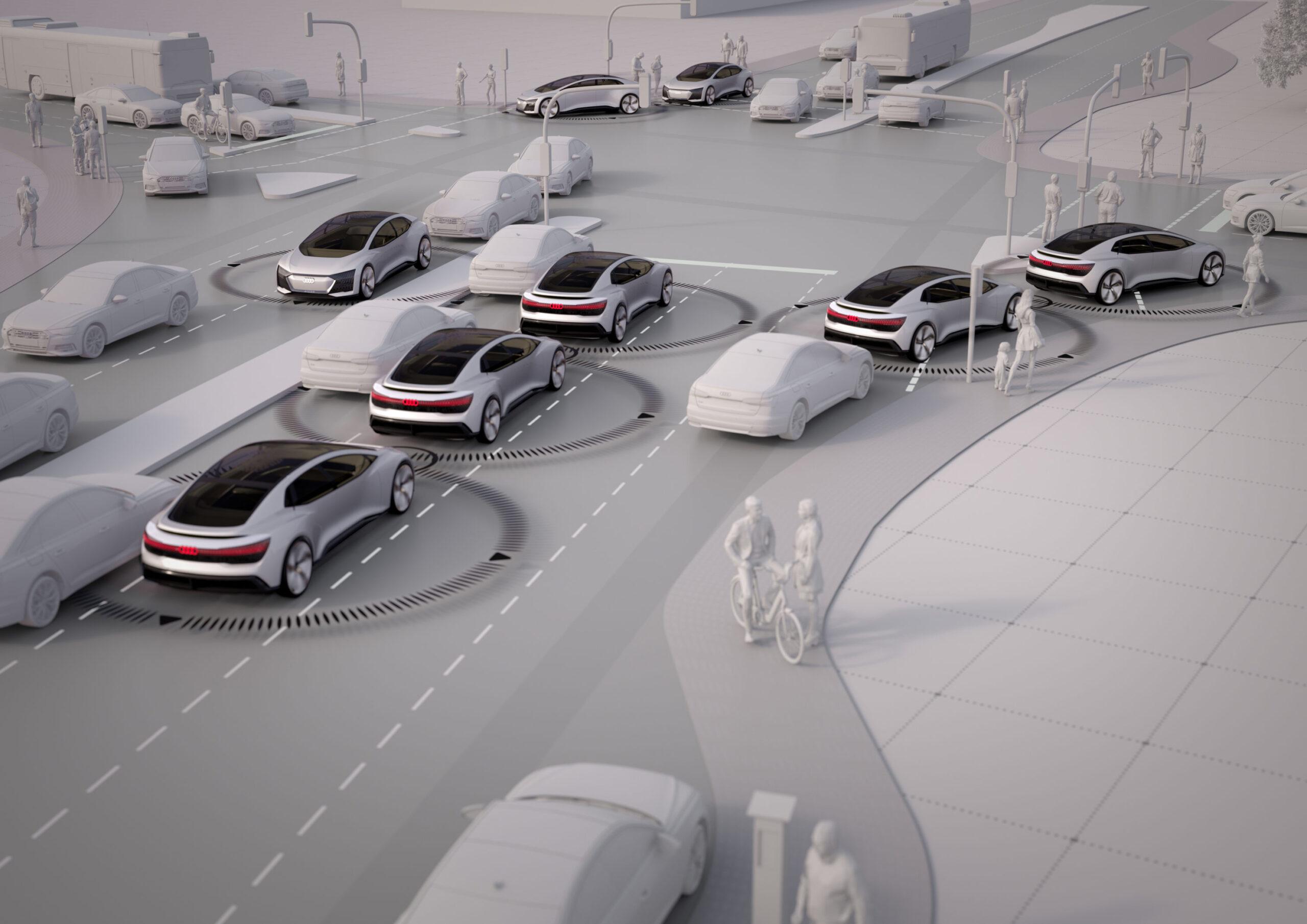 Audi Futuro sem engarrafamentos