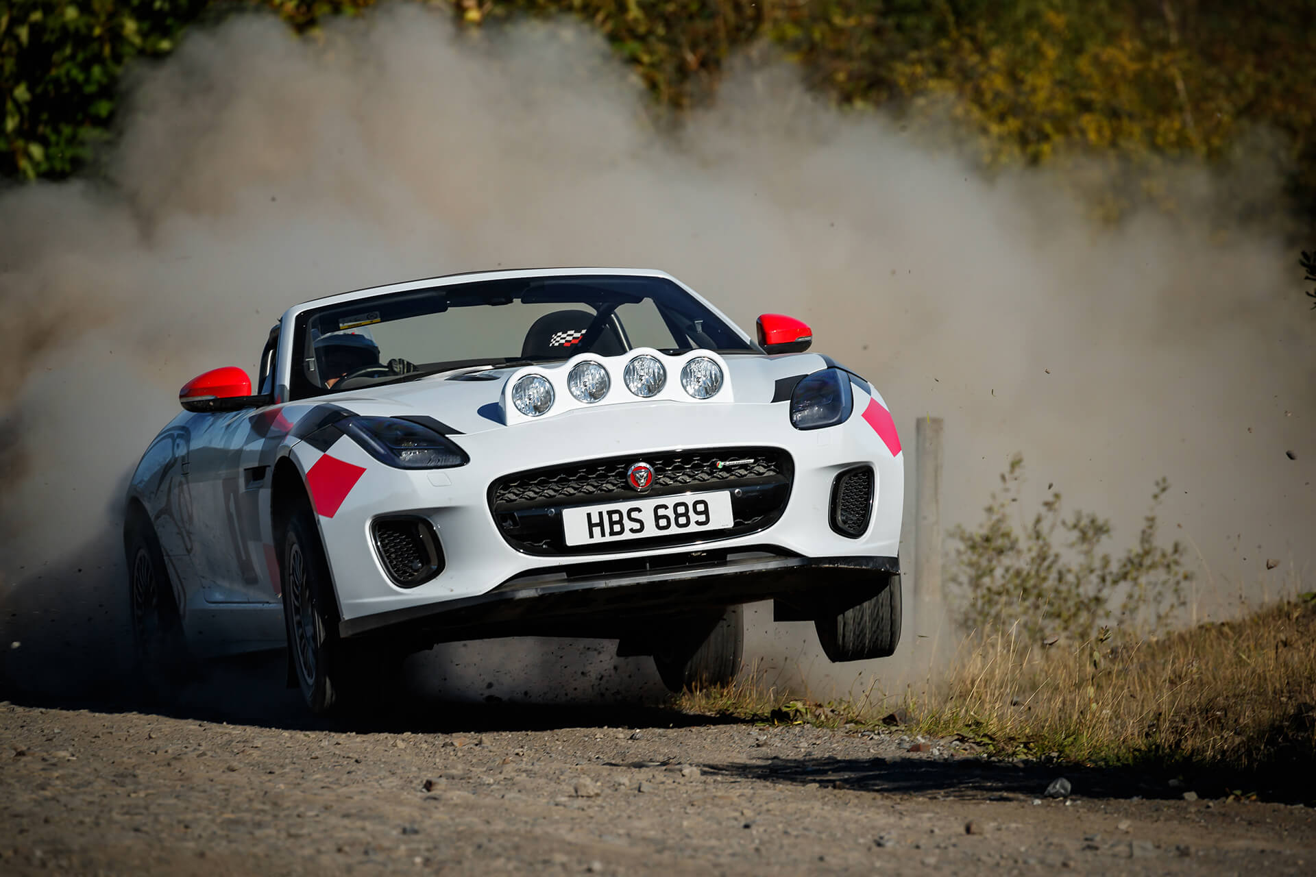 Jaguar F-Type rali