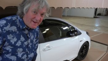 James May unboxing Toyota Yaris GRMN