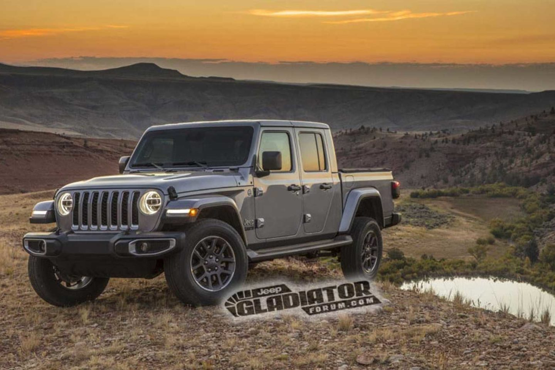 Jeep Gladiator 2019 All About New Car Comanche Selec Trac A Pick Up Do Wrangler Antecipada