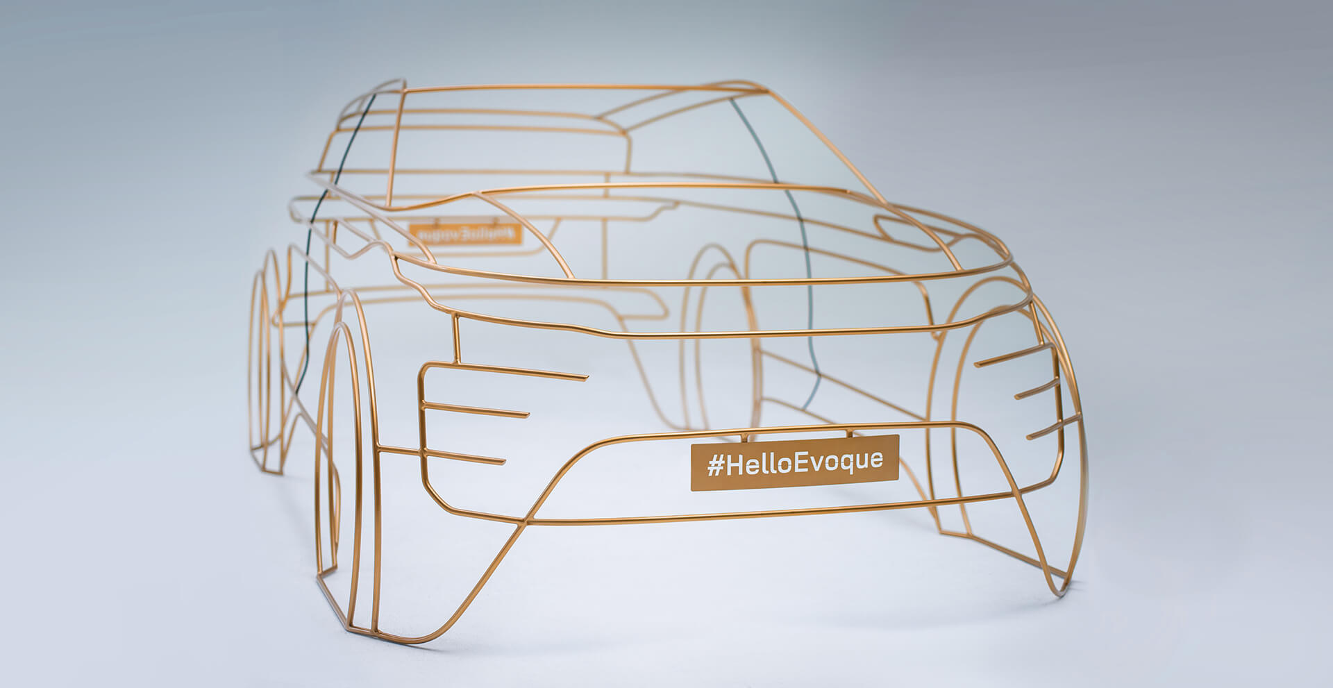 Range Rover Evoque teaser