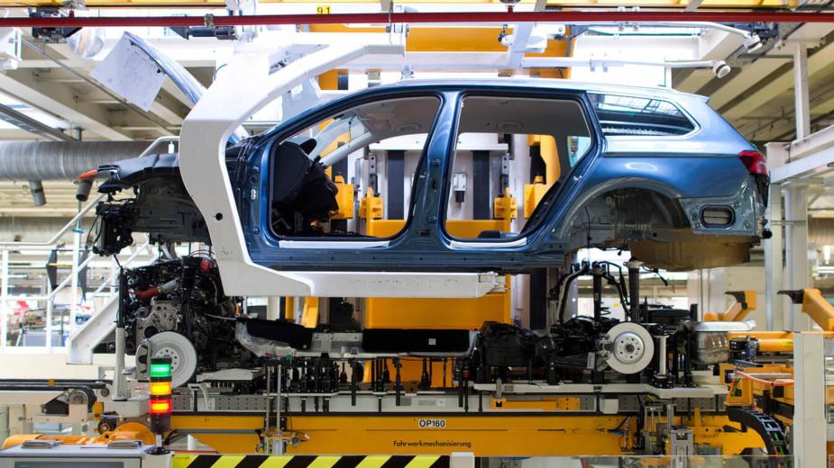 Volkswagen Passat produção