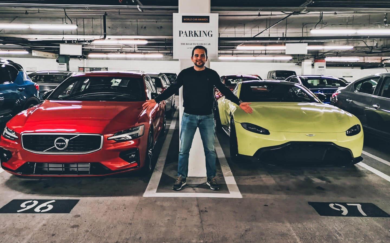 World Car Awards — Volvo S60 e Aston Martin Vantage com Guilherme Costa