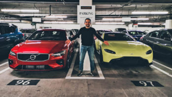 World Car Awards — Volvo S60 e Aston Martin Vantage com Guilherme Costa