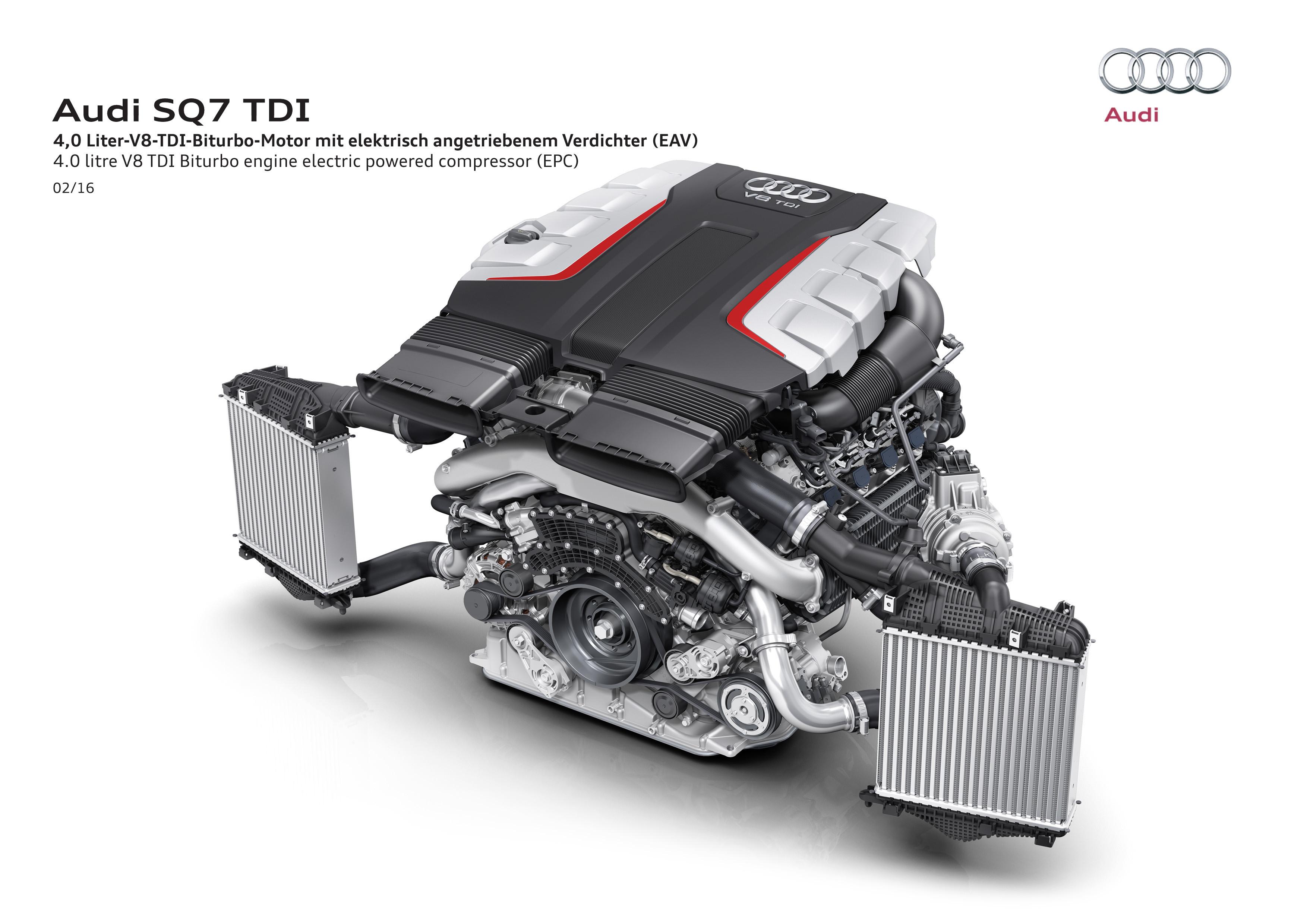 Audi SQ7 TDI motor