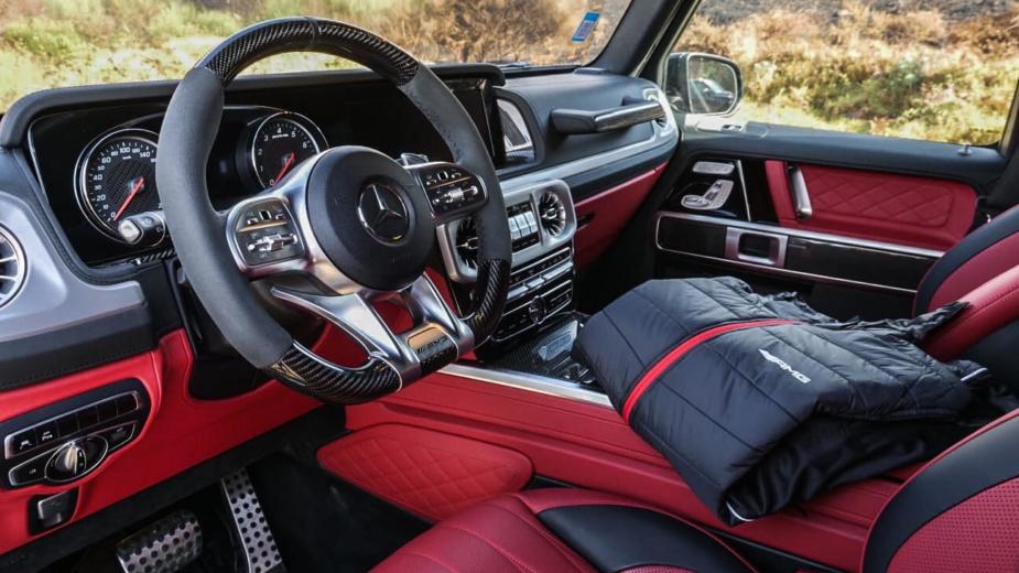 Mercedes-AMG G63, Blusão AMG