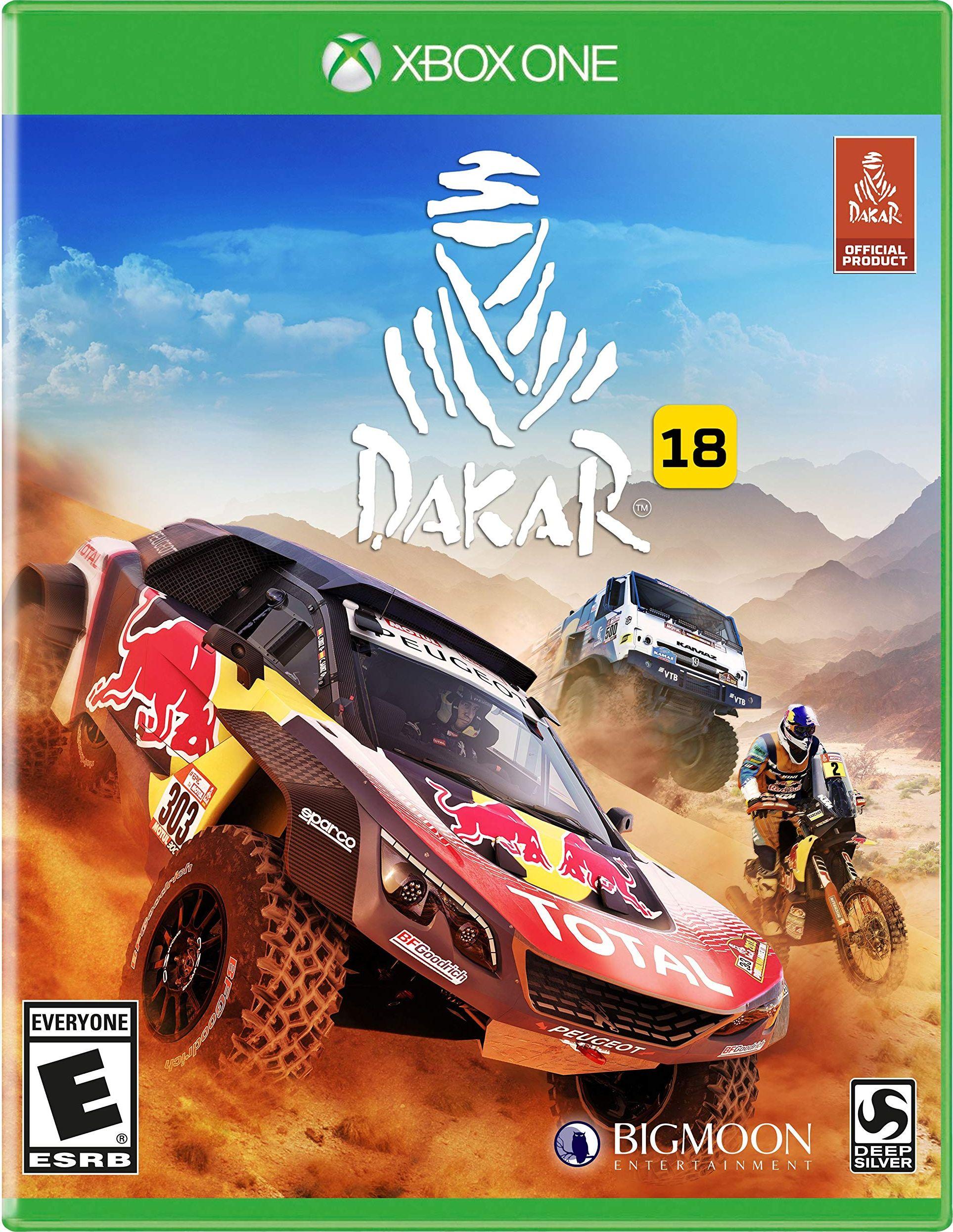 Dakar 18 capa