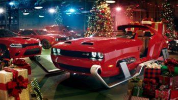 Dodge Challenger Hellcat Redeye trenó