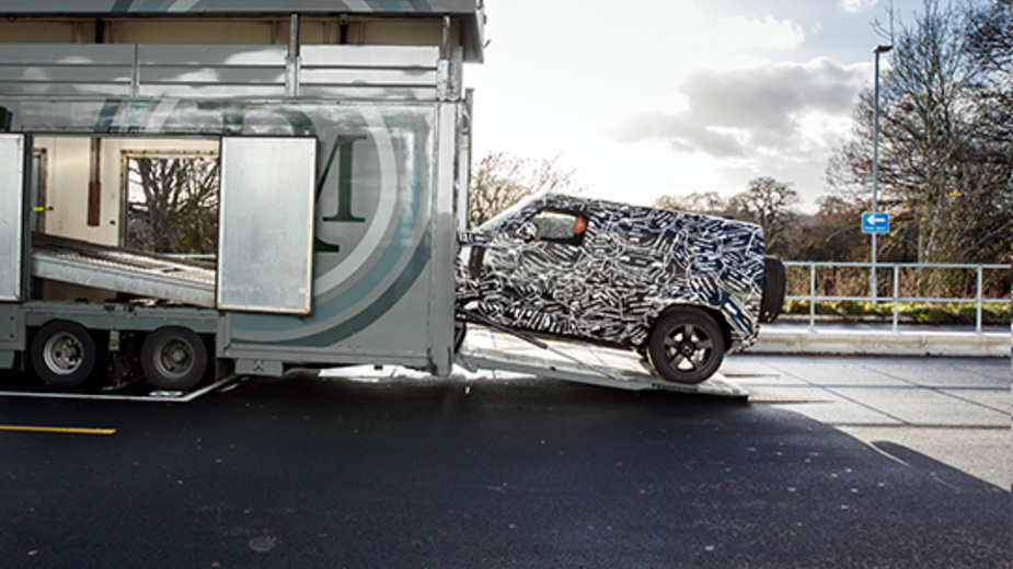 Land Rover Teaser