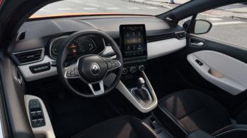 Renault Clio interior, Intens