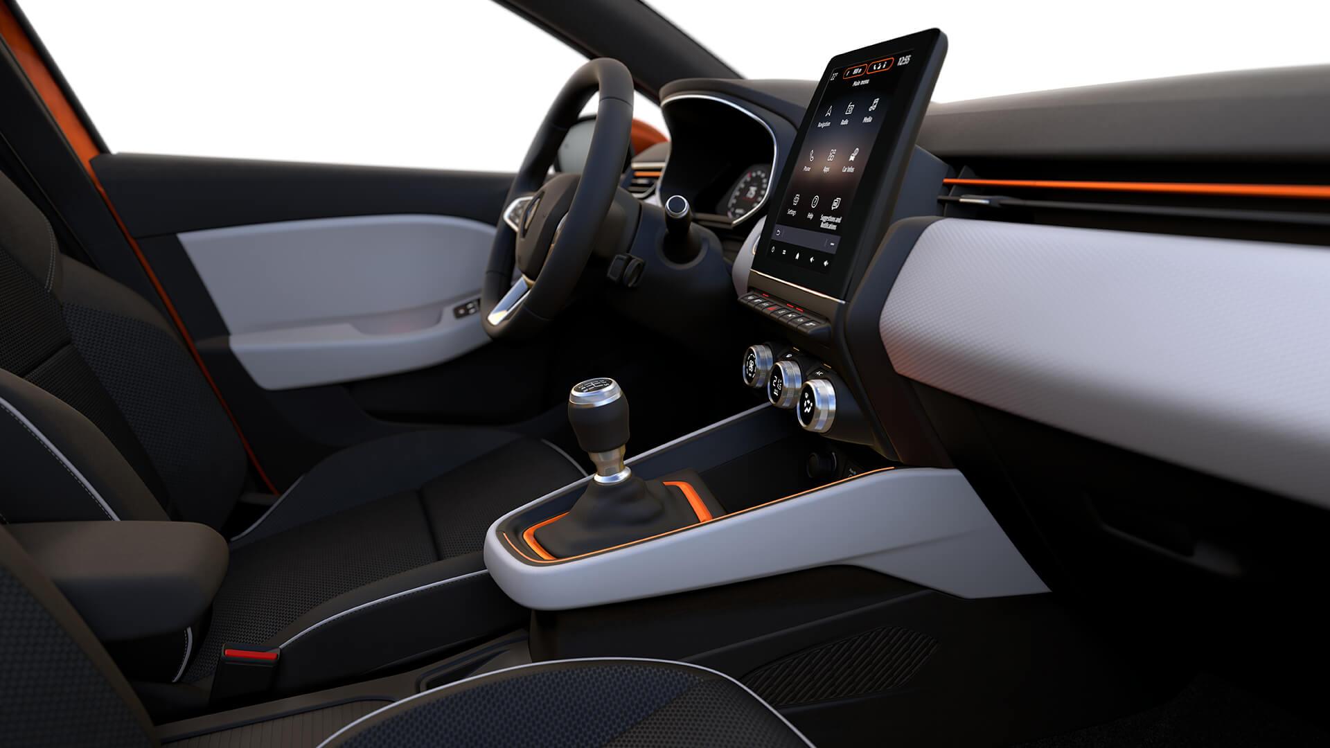 Renault Clio interior Intens
