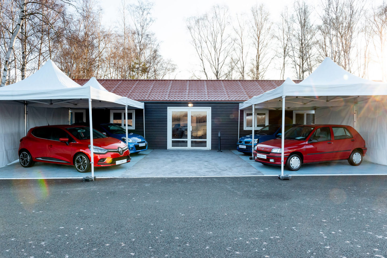 As quatro gerações do Renault Clio