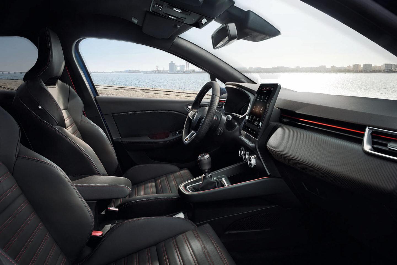 Renault Clio interior, RS Line