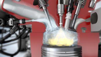 Bosch, Injeção de água no motor