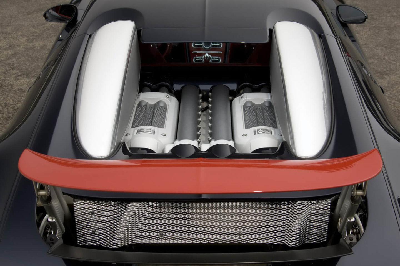 Motor W16 do Bugatti Veyron
