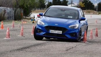 Ford Focus teste do alce
