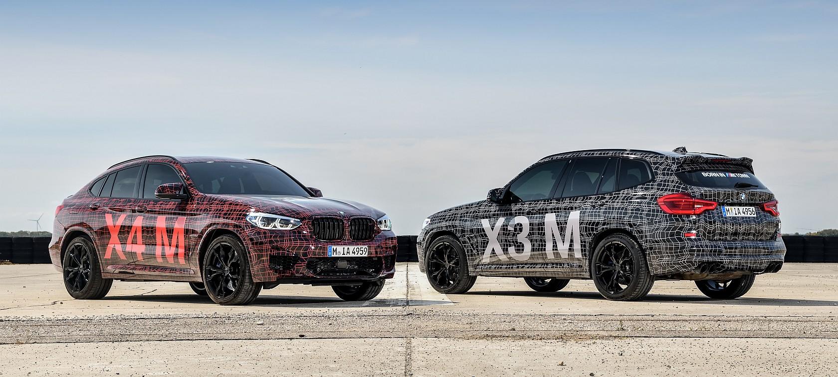 BMW X3M e BMW X4M