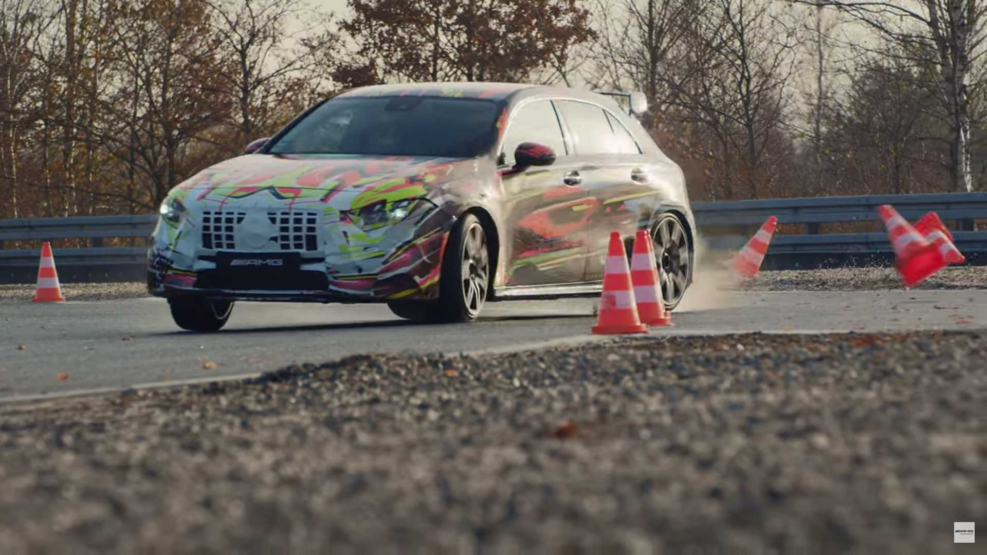 Mercedes-AMG A 45 teaser
