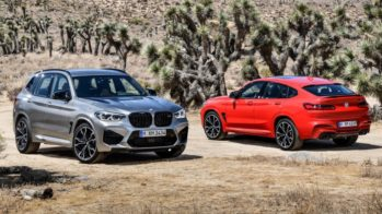 BMW X3 M Competition e BMW X4 M Competition