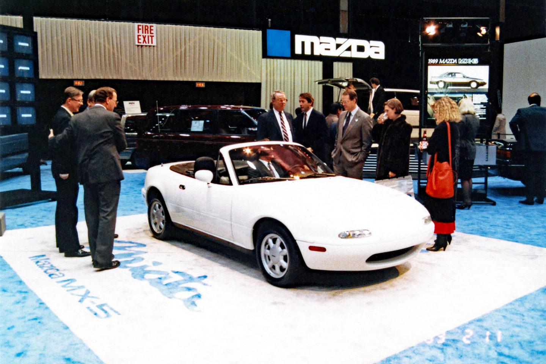 Salão de Chicago, 1989, Mazda Miata MX-5