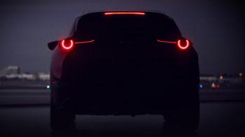 Mazda SUV teaser Genebra 2019