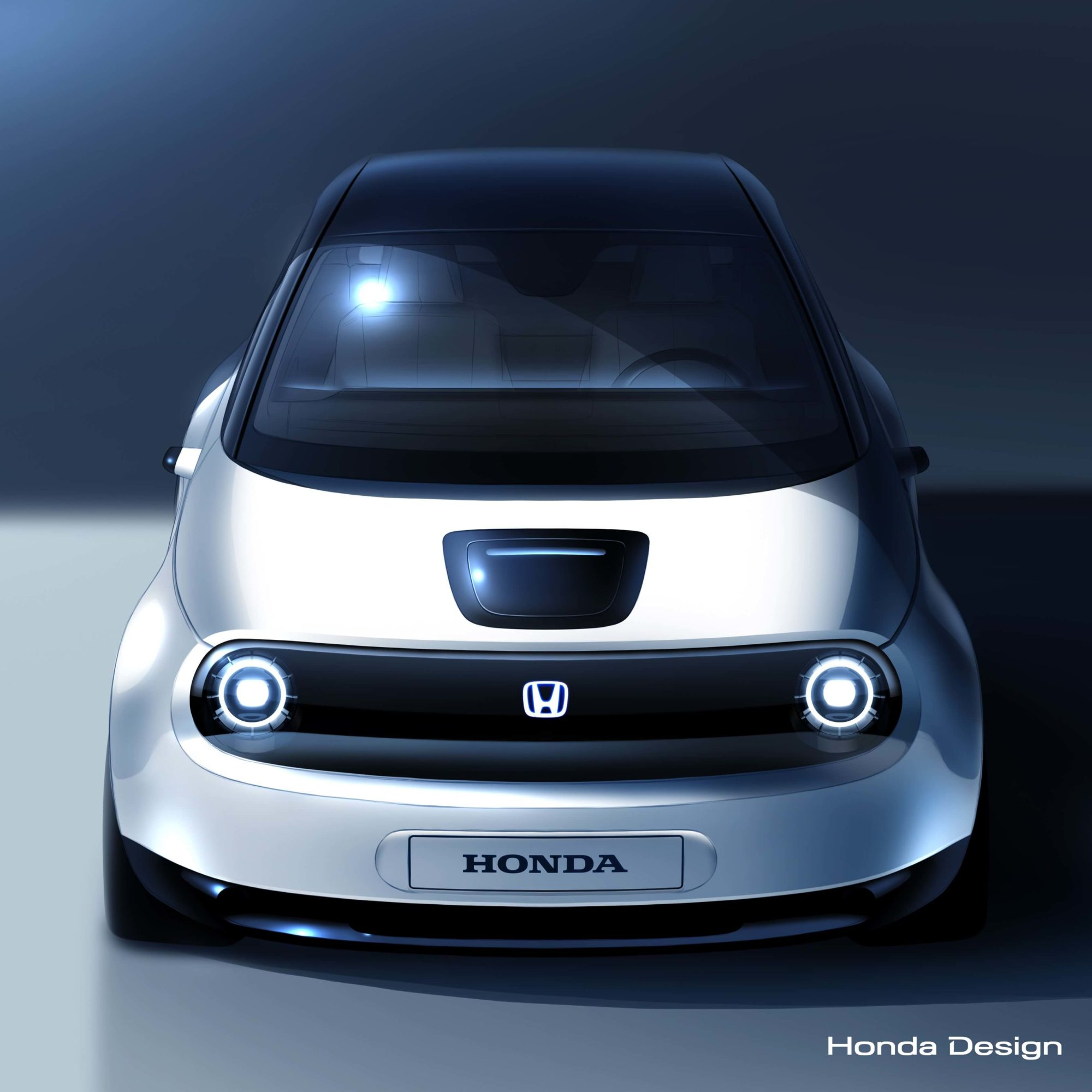 Honda protótipo elétrico teaser