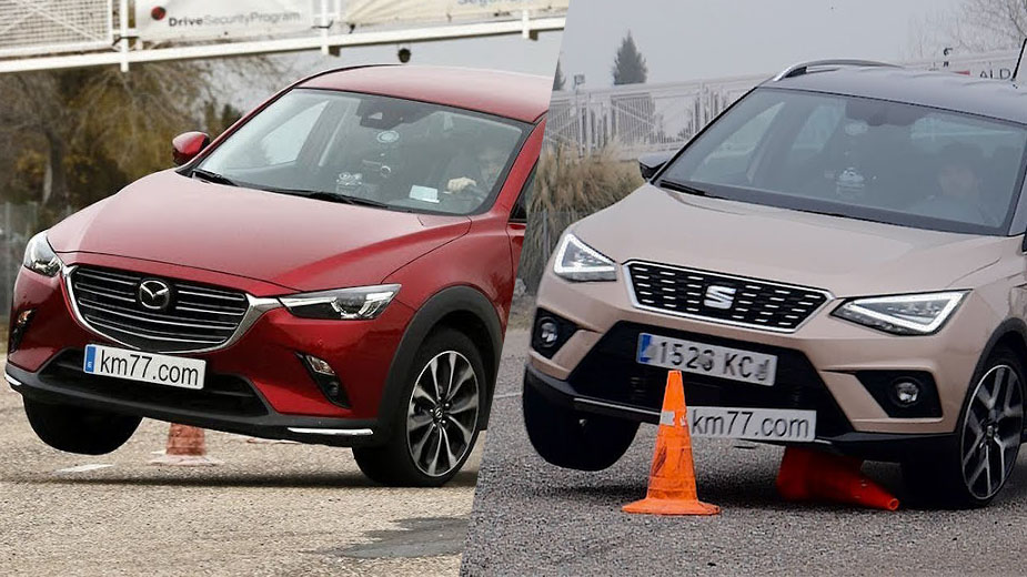 Teste do Alce: SEAT Arona vs Mazda CX-3