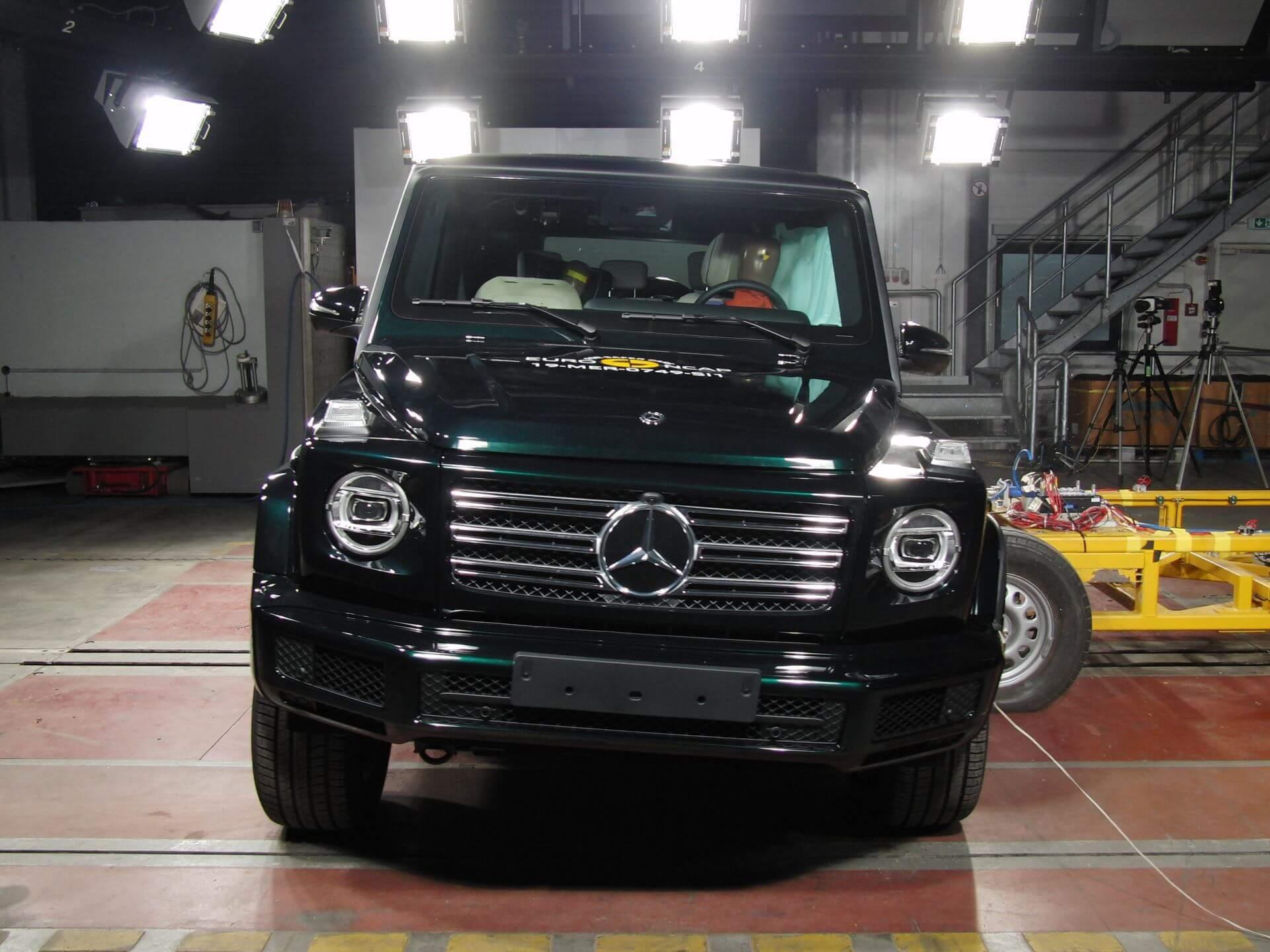 Mercedes-Benz Classe G Euro Ncap