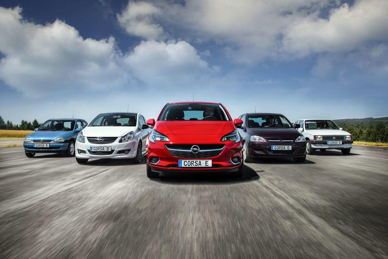 Opel Corsa gerações