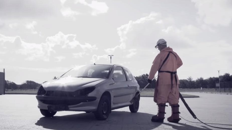 Peugeot 206 Jet Wash