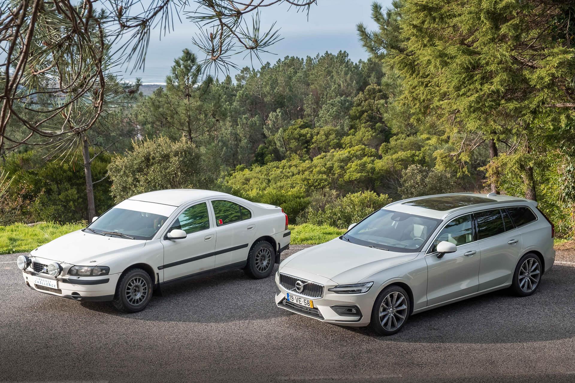 Volvo S60 RECCE e Volvo V60