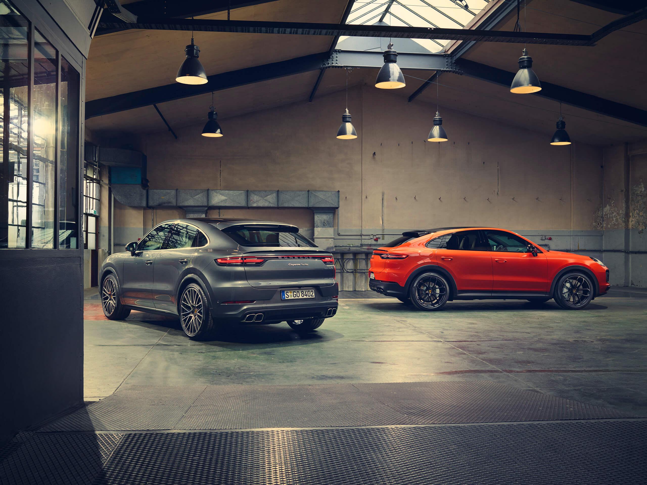 Porsche Cayenne Coupé e Porsche Cayenne Turbo Coupé