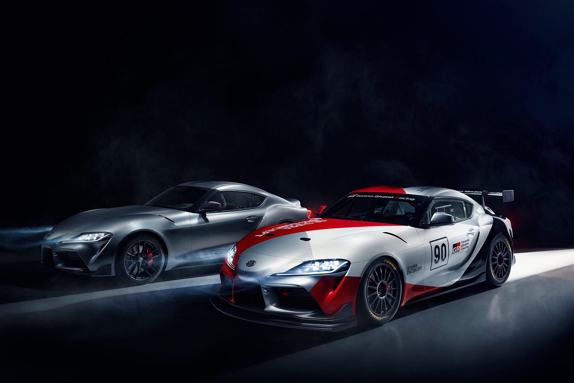 Toyota GR Supra GT4 Concept 2019