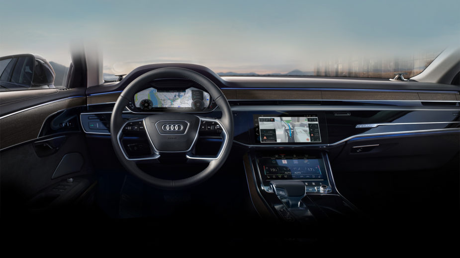 Audi A8 HERE