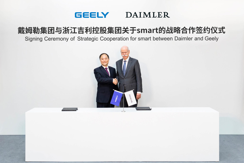 Daimler e Geely joint-venture