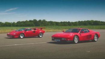 Ferrari Testarossa vs Lamborghini Countach