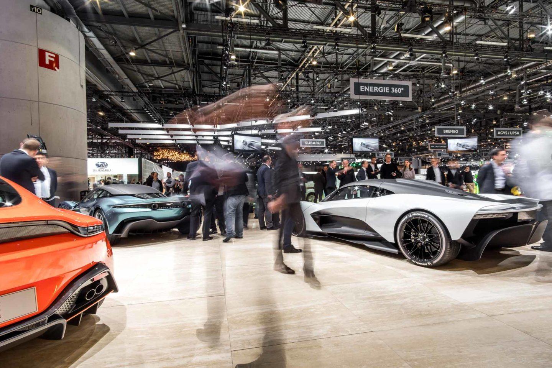 Aston Martin stand Genebra