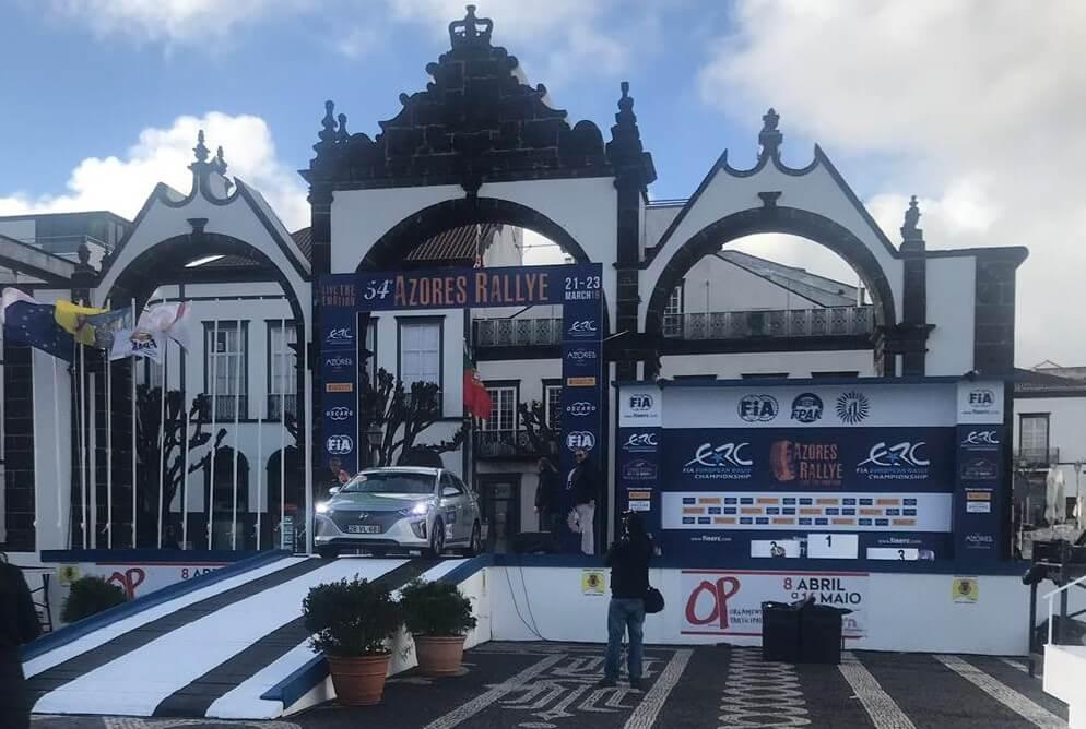 Hyundai Ioniq Electric Azores e-Rallye