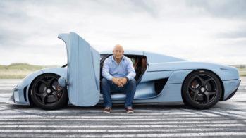 Christian von Koenigsegg com Koenigsegg Regera