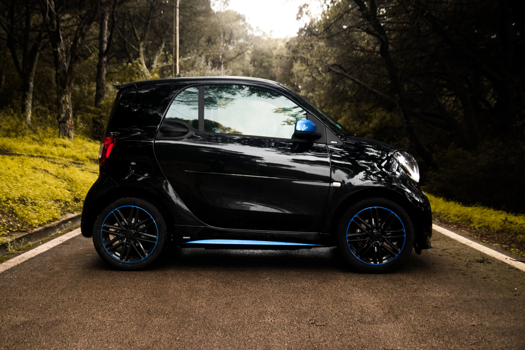 Smart EQ fortwo nightsky edition