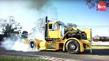 Filthy, the burnout truck