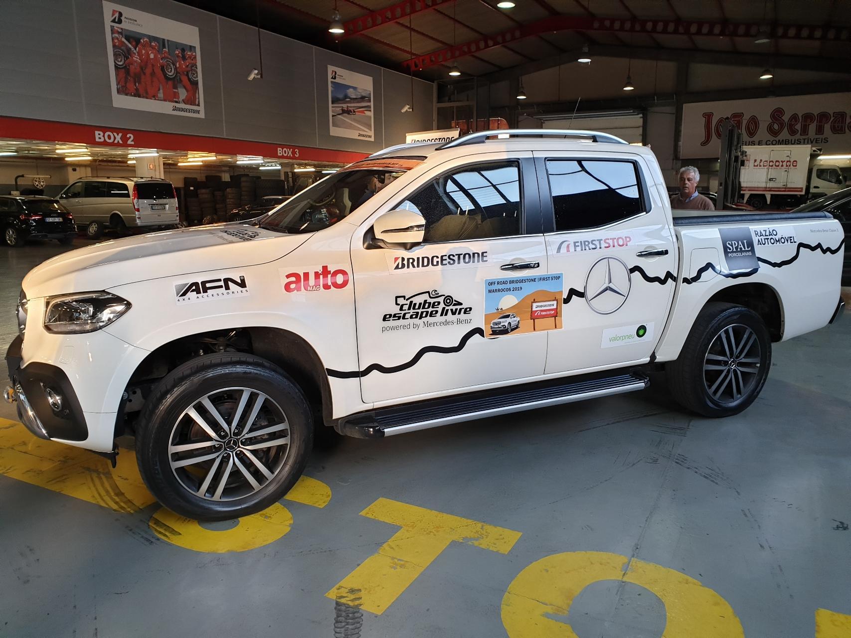 Off Road Bridgestone/First Stop Marrocos, Mercedes-Benz Classe X