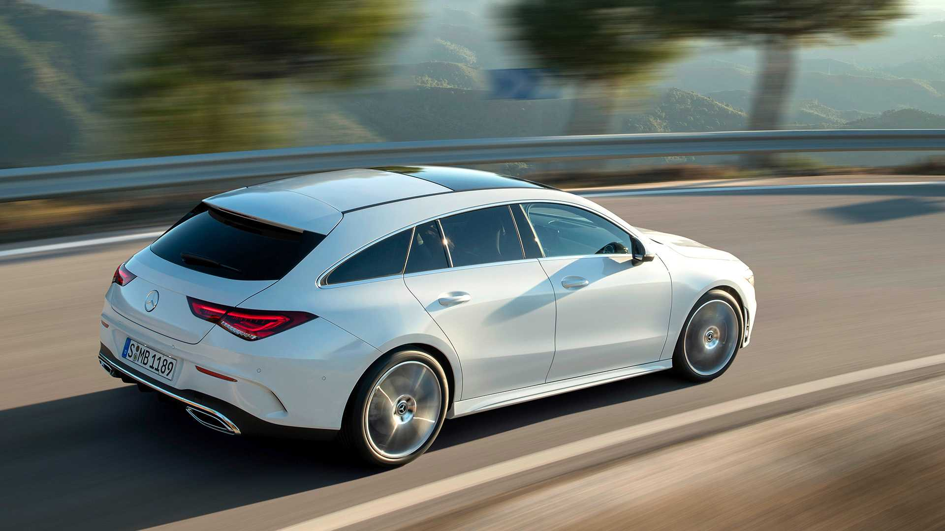 Mercedes-Benz CLA Shooting Brake, 2019