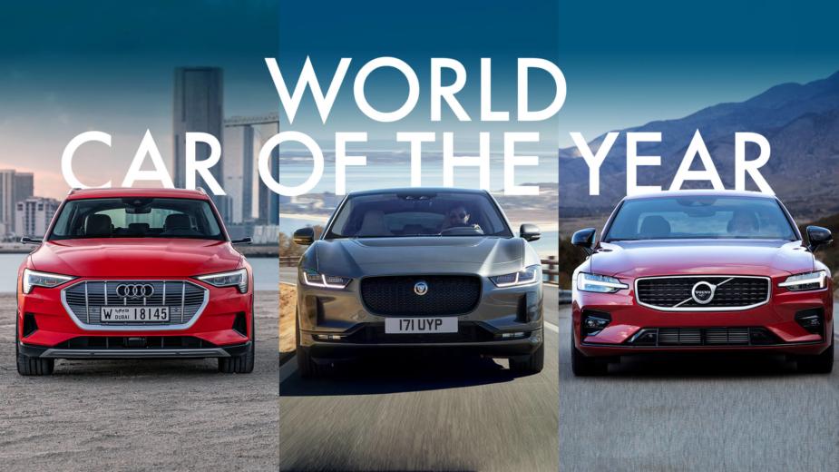 Finalistas Carro do Ano Mundial 2019