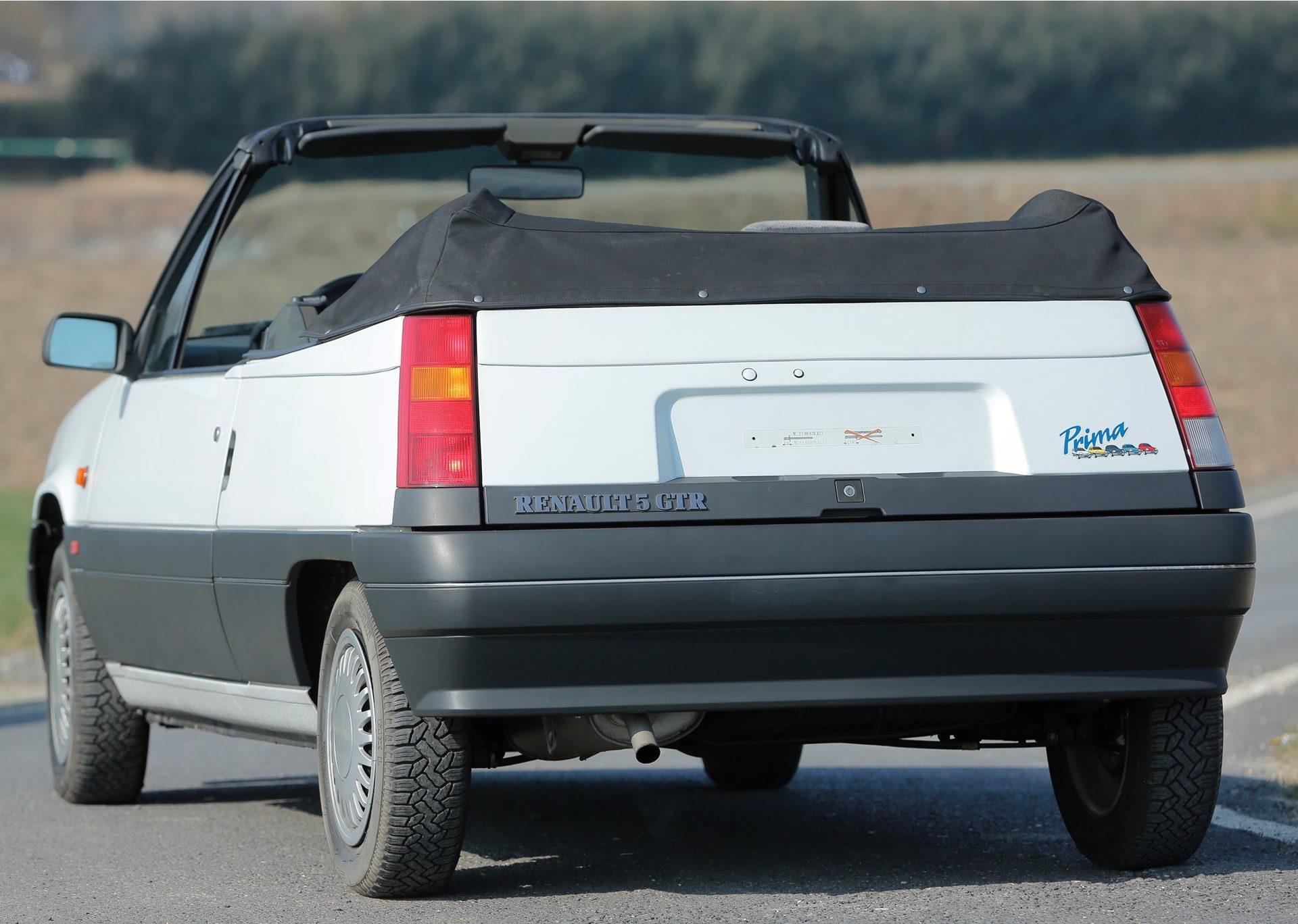 Renault 5 GTR Cabriolet