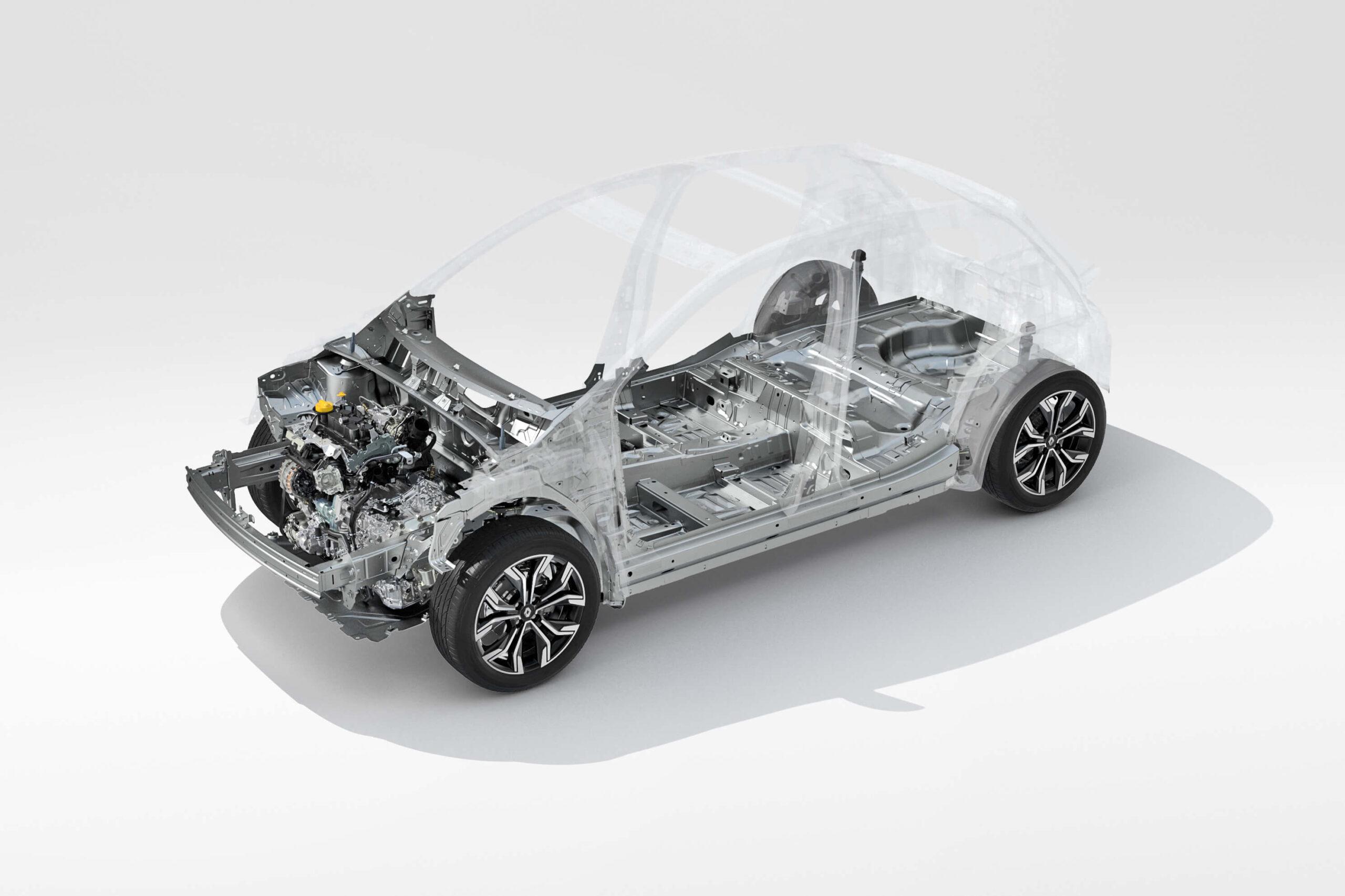 Renault Clio 2019, plataforma CMF-B
